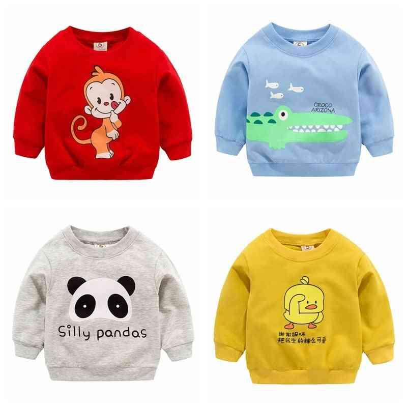 Sweatshirts Autumn & Spring Cartoon Cotton Hoodies