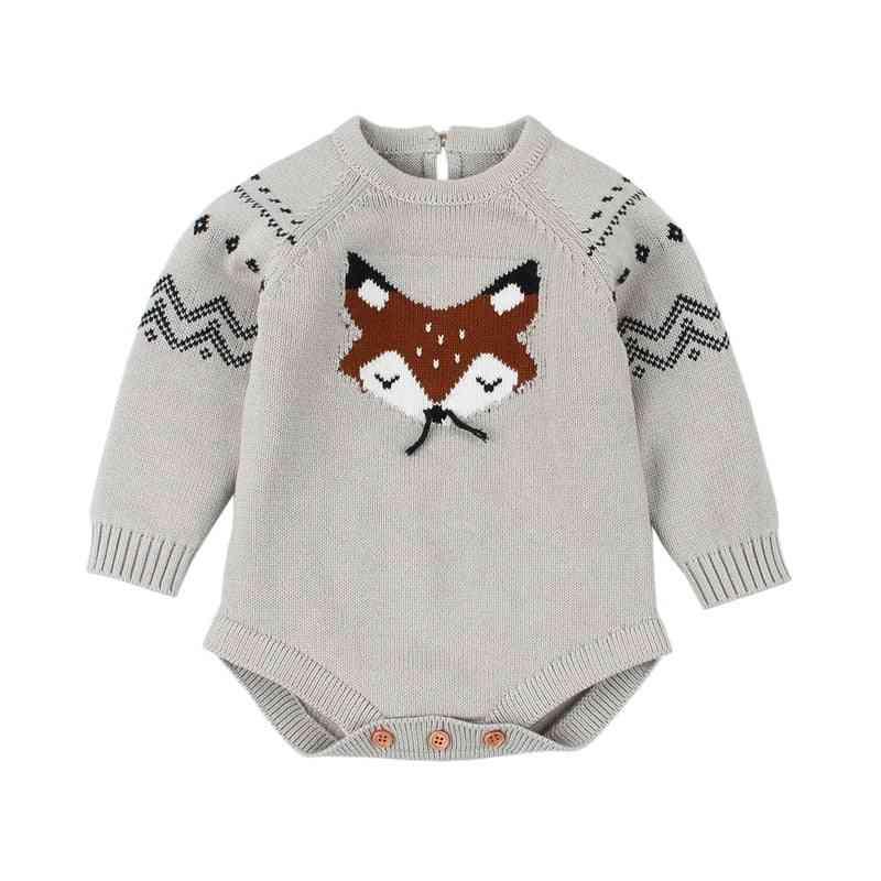 Newborn Spring Winter Fashion, Cartoon Sweater Clothing