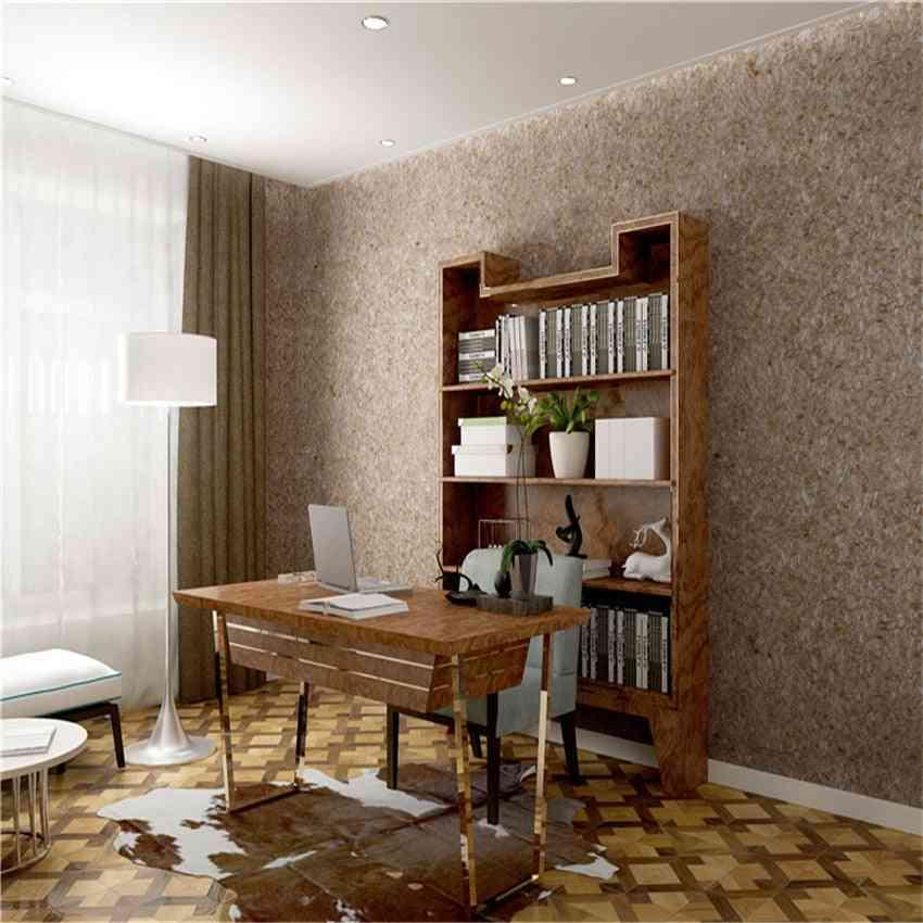 Brown 3d Foam Silk Plaster, Liquid Wallpaper, Wall Covering  (1kg)