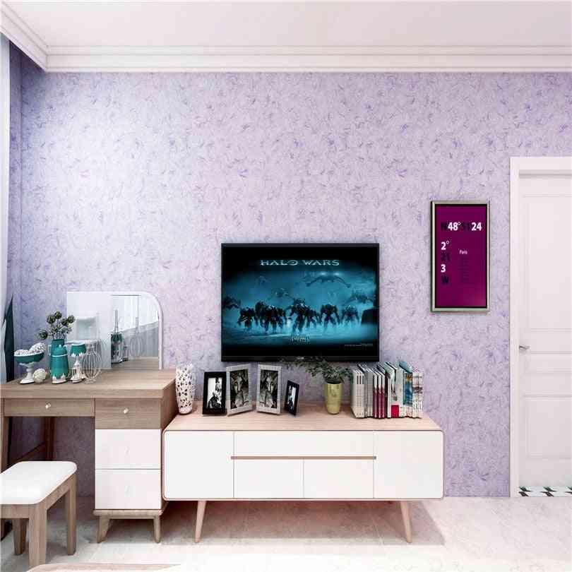 Purple  3d Foam Silk Plaster, Liquid Wallpaper, Wall Covering  (1kg)