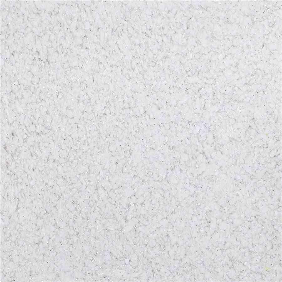 White  3d Foam Silk Plaster, Liquid Wallpaper, Wall Covering  (1kg)