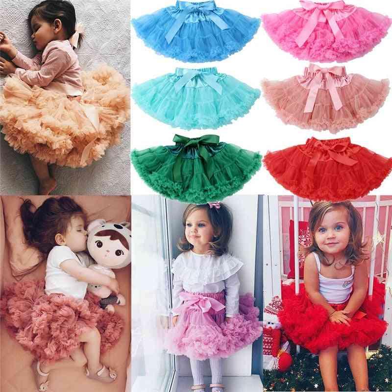 Cute Princess Tutu, Fluffy Layer Skirt-dance Party Wear For Little
