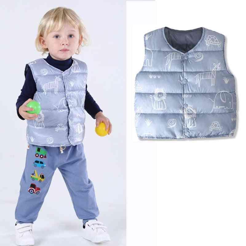 Padded Warm Vest Jackets For Kids