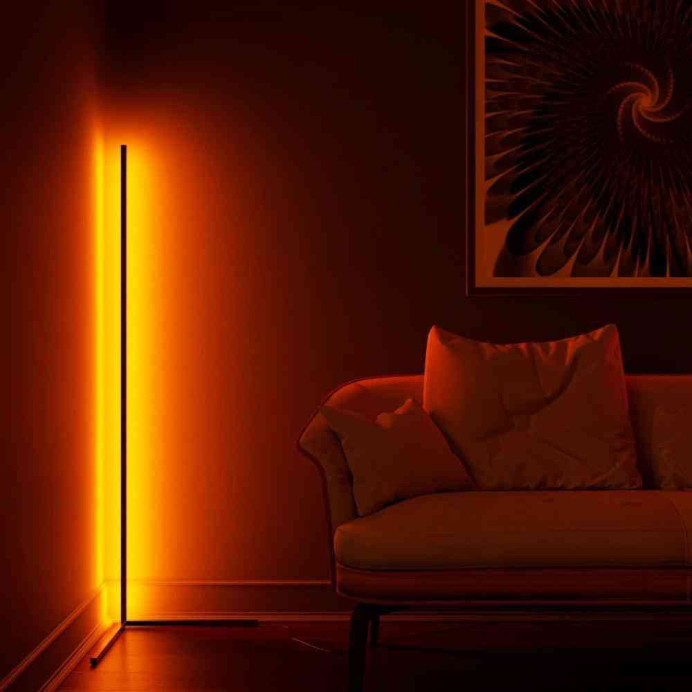 Nordic Rgb Floor Lamp, For Living Room Decoration
