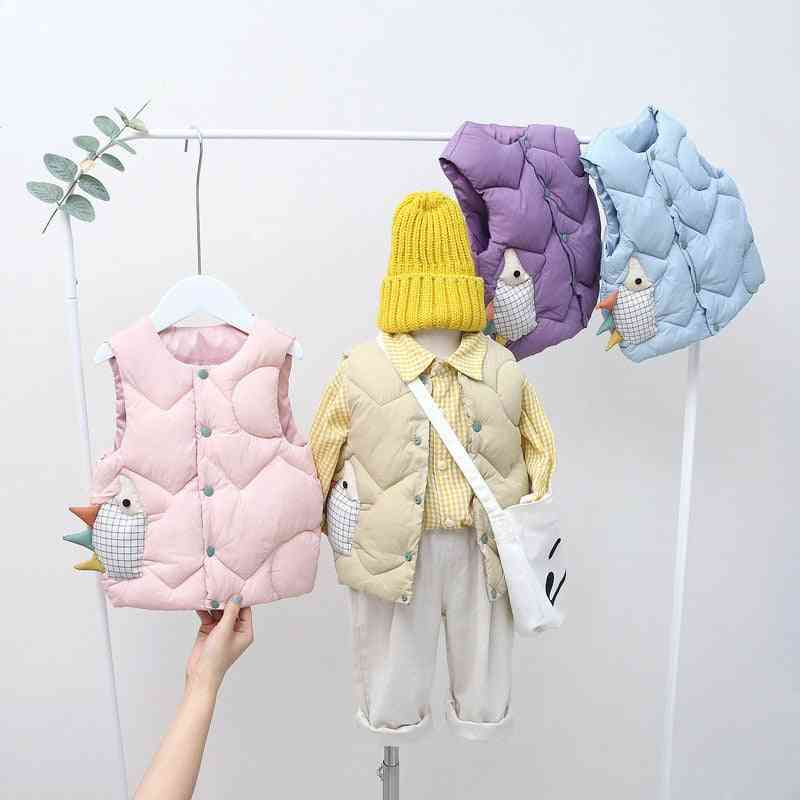Baby Winter Clothes, Waistcoat Vest With Soft Sleeveless