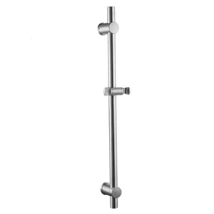 Stainless Steel Pipe- Adjustable  Shower Head Bar, Holder