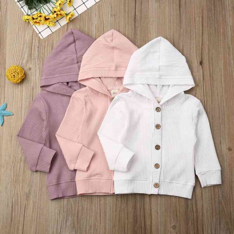 Autumn Infant Baby Girl Long Sleeve Knitted Coat / Jacket, Outwear Tops