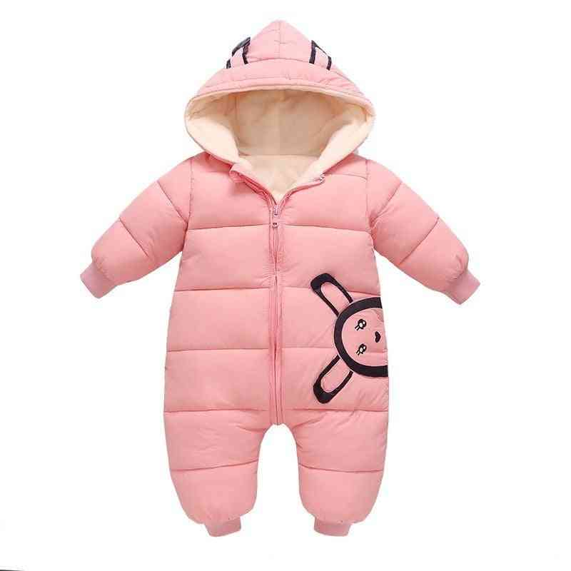 Winter Warm Snowsuit-padded Jacket For Kids