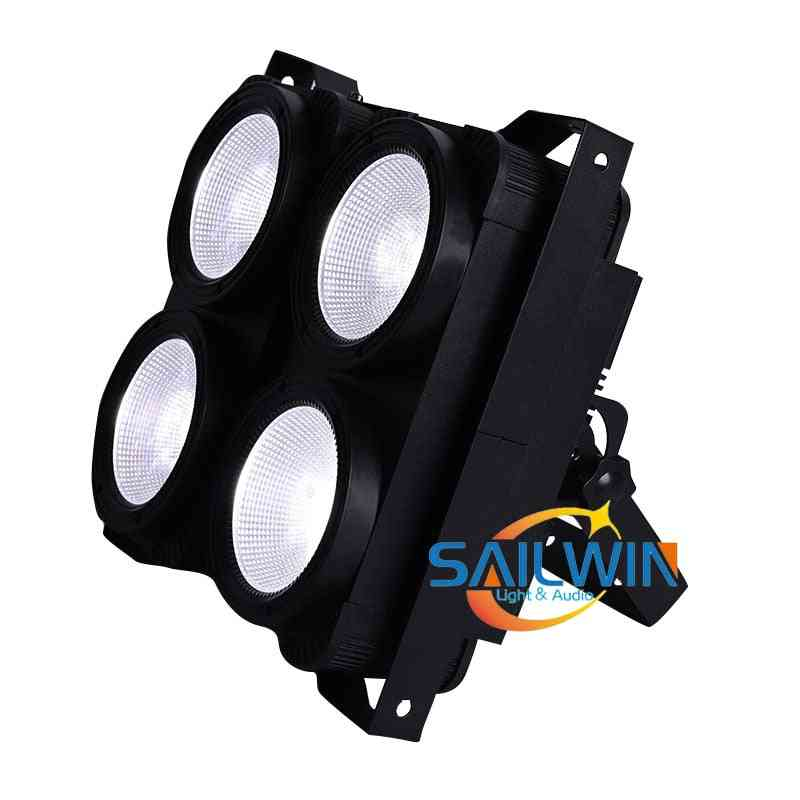 4*100w Cob 2in1 Ww/cw Led, Blinder Light For Theater