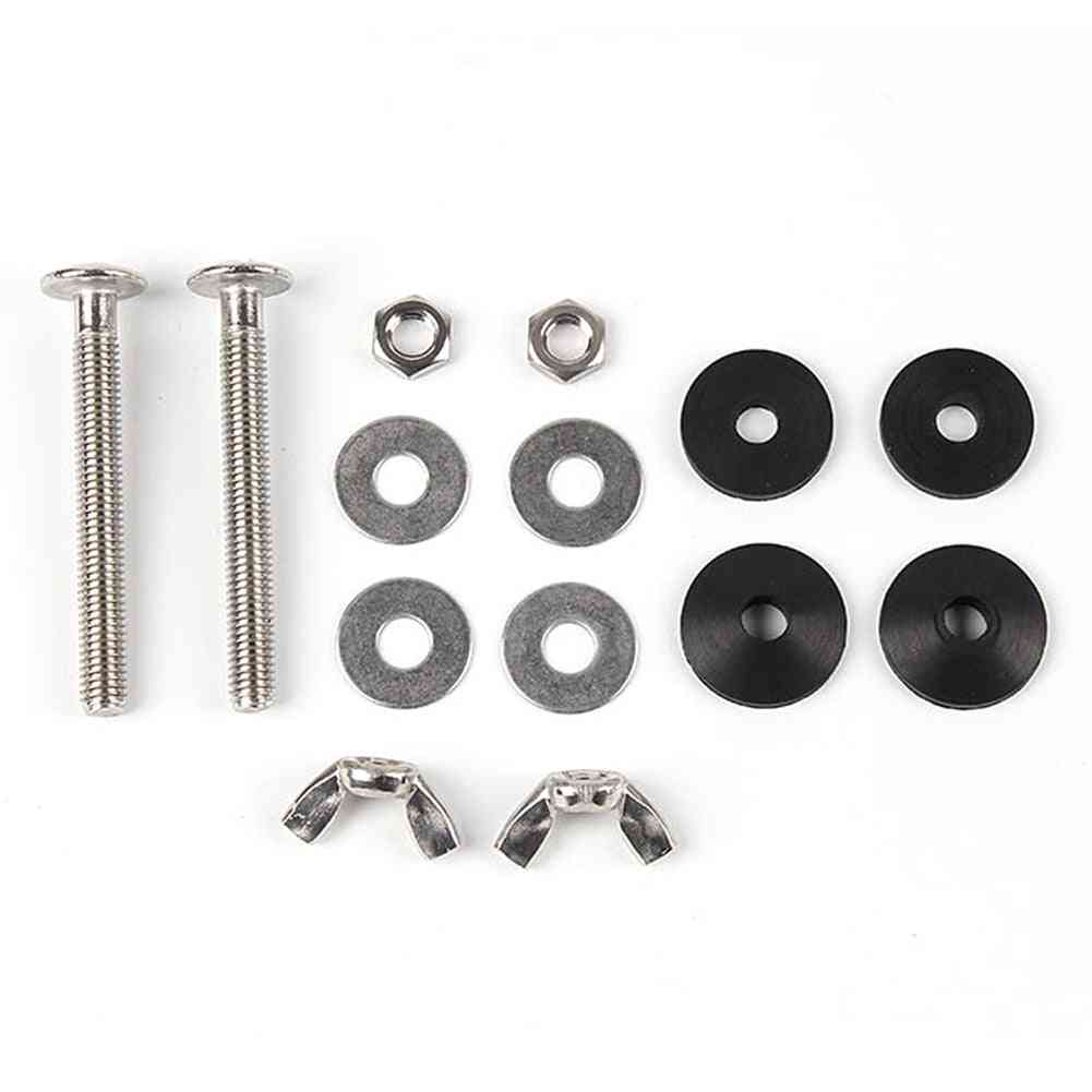 2pcs Bolt Kit For Home, Durable Universal Cistern To Wc Pan Accessories