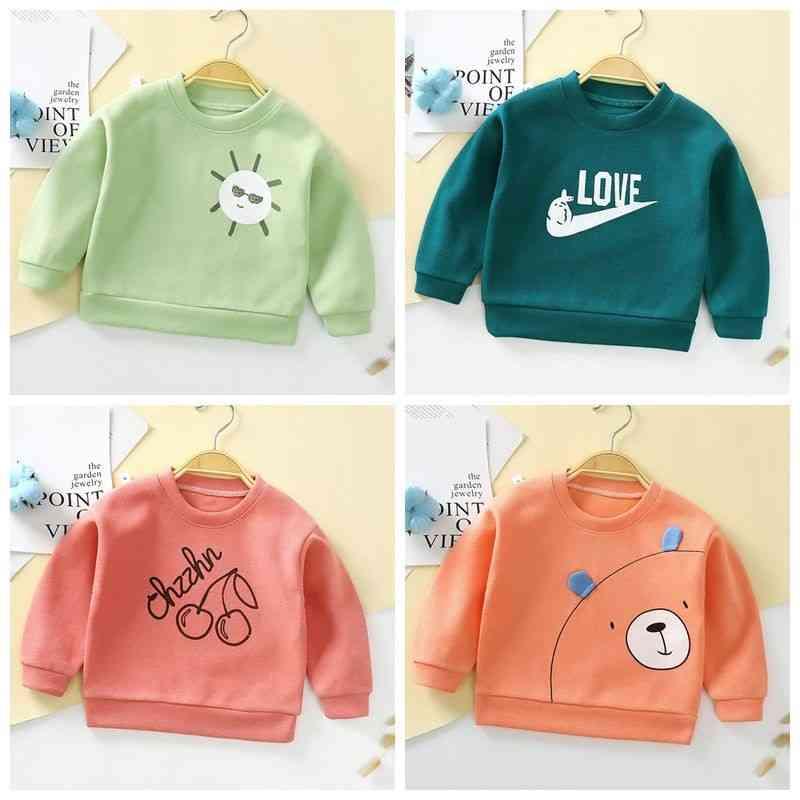 Baby Sweatshirt,  Spring Cotton Hoodie, Long Sleeve T-shirts