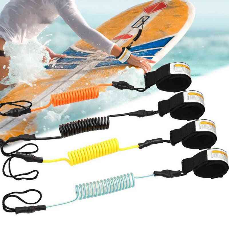 Adjustable And Flexible Leg Ankle Rope For Surfboard And Others
