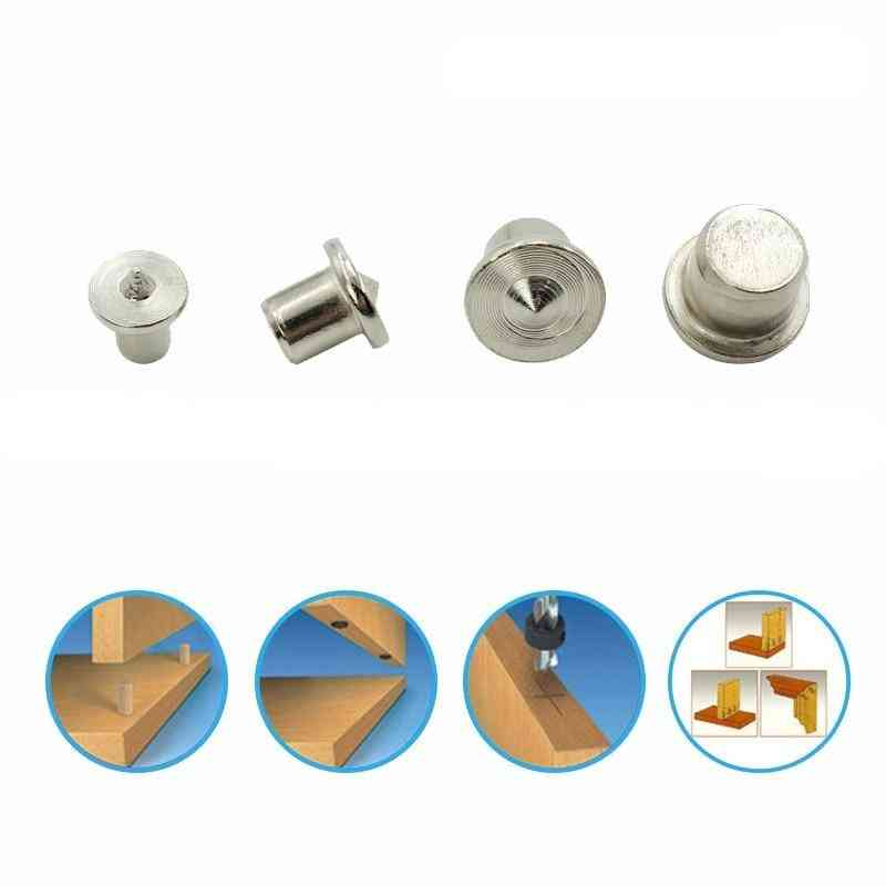 Woodworking Log Locator, Dowel Furniture Positioning Tools, Wooden Pin Center Punch Accessories