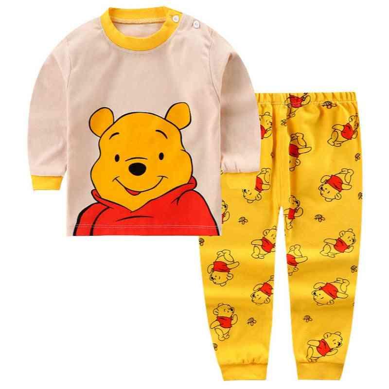Autumn Cotton Long Pants With Shirts Set