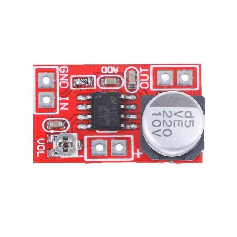 Dc 5v-12v Micro Electret Mic Condenser, Mini Microphone Amplifier Board