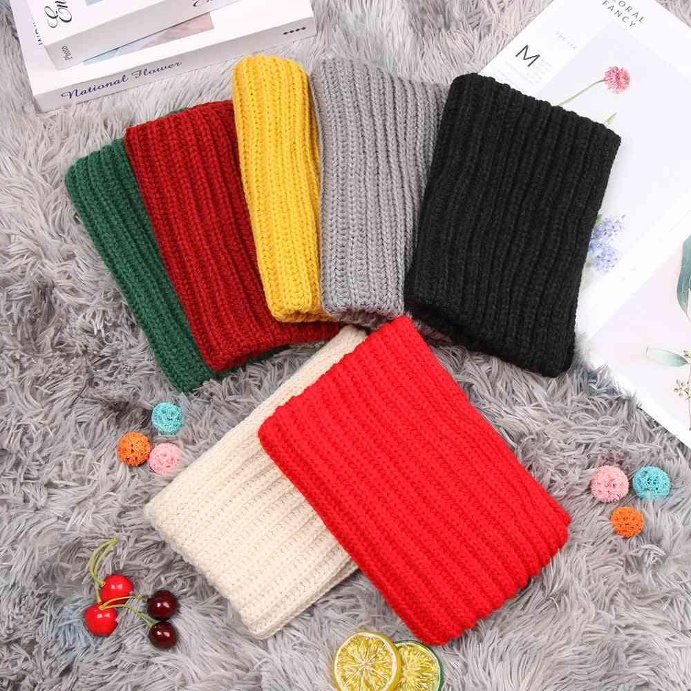 Children Solid Neck Scarf, / Warm Collar Winter Fashion