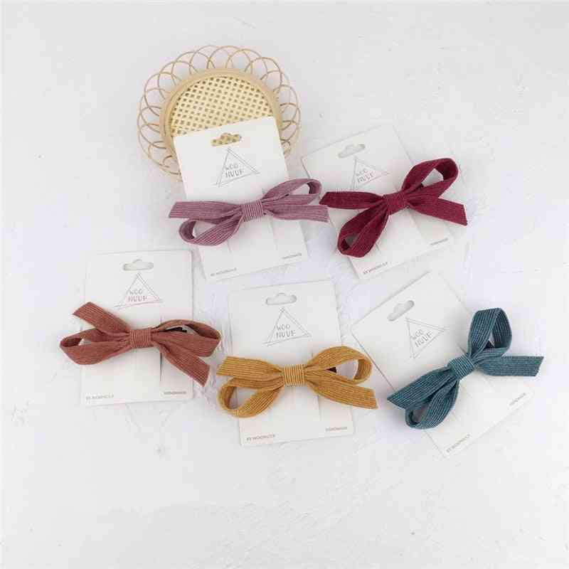 Beautiful Bow Design Hair Clips For