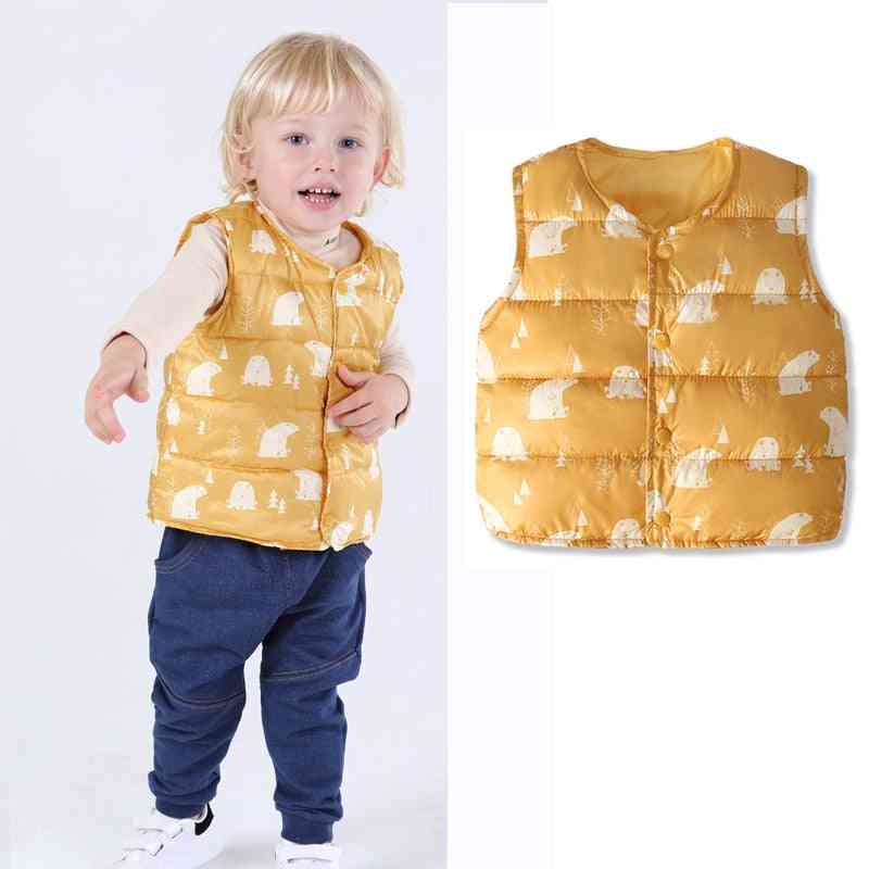 Kids Warm Vest, Jackets For Baby From Cotton-padded