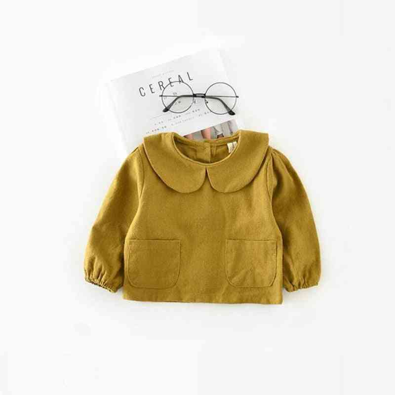 Baby Blouse - Spring Baby Girl Clothes, Cotton Child Shirt Kids Clothes