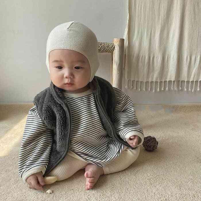Autumn Winter Baby Thick Vest Berber Fleece Waistcoat - Plush Vest Baby Girl Winter Clothes