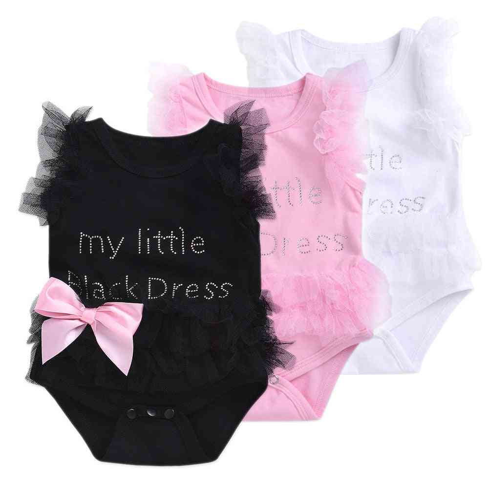 Summer Kawaii Outfit - Short, No Sleeve Jumpsuit For Baby Girl Infant