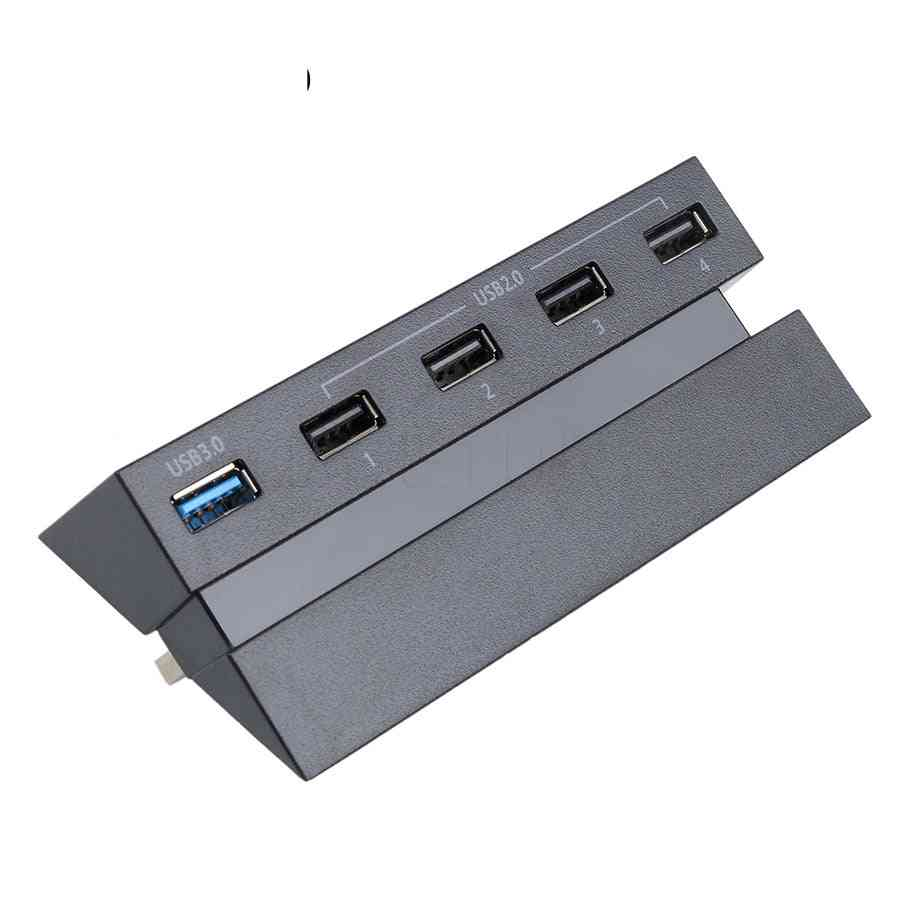 Universal Usb Hub, 5 Ports High Speed Adapter For Playstation