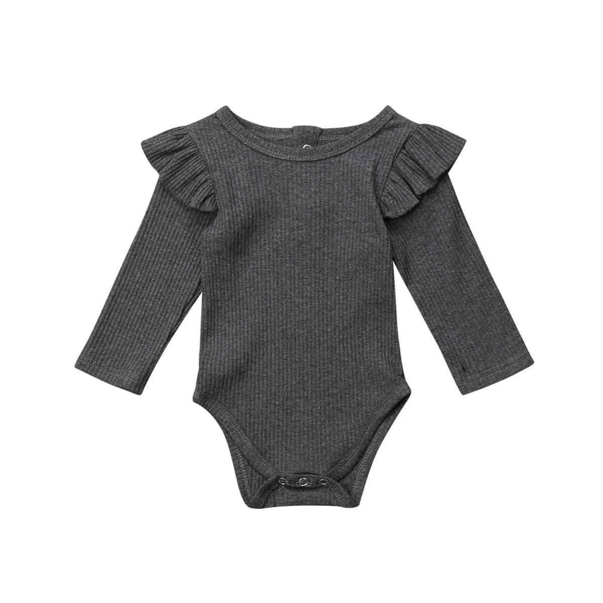 Newborn Baby / Romper, Long Sleeve Jumpsuit Bodysuit,  Autumn Winter Clothes