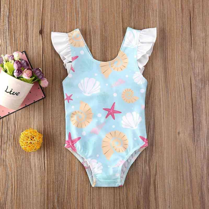 Baby Bow Bikini Swimwear Bathing Suit, Summer Beachwear