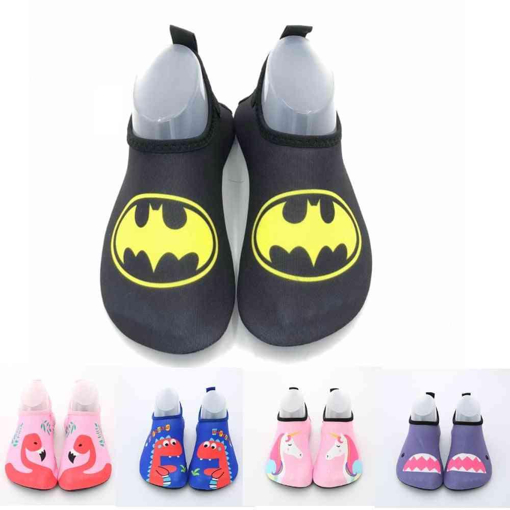 Cute Cartoon Beach Non-slip Swimming Shoes, Ultralight Barefoot Skin Soft Water Socks