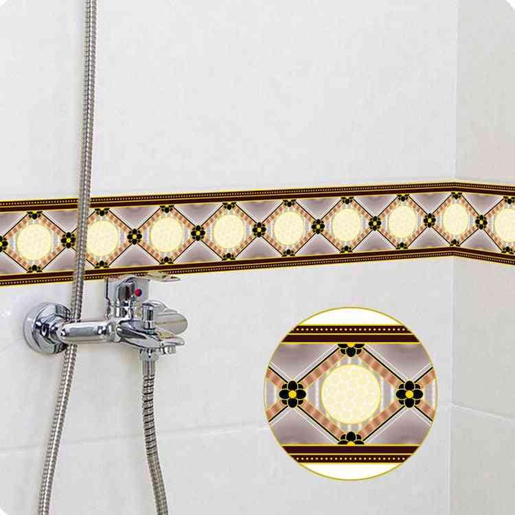 Geometric Pattern Waterproof - Self Adhesive Wallpaper / Wall Sticker