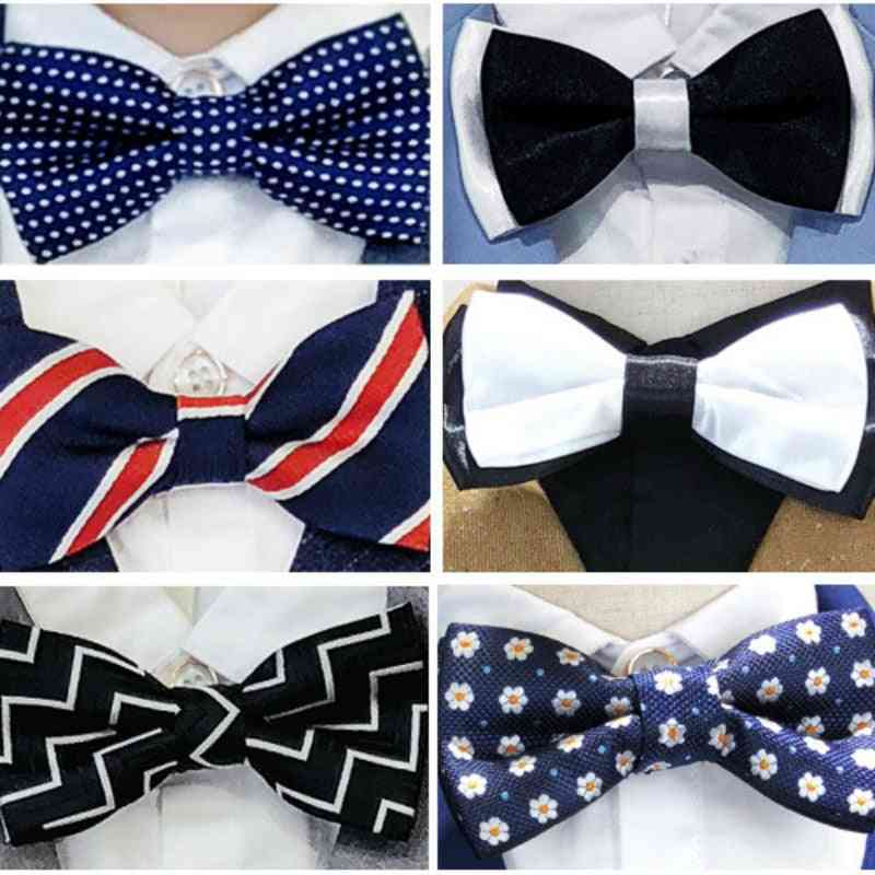 Adjustable Bow Tie Shirt And Party Suit