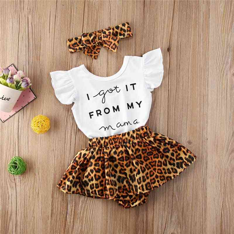 Infant Cotton Casual Outfits Set