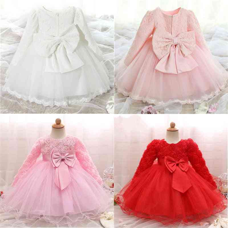 Long Sleeve Birthday Party - Gown For