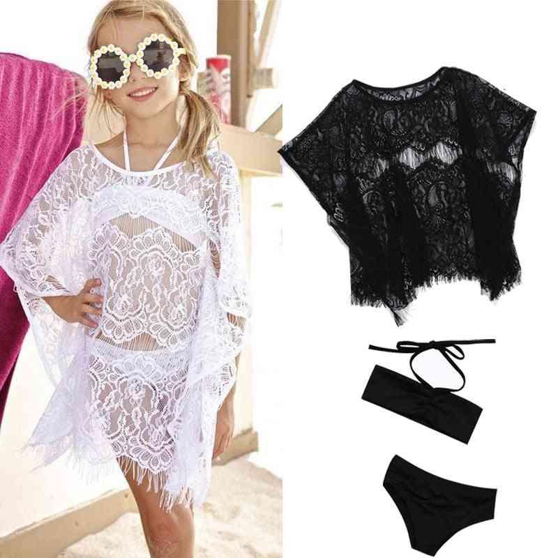 Summer Lace Suit Bikini - Swimsuit Beachwear Clothes For