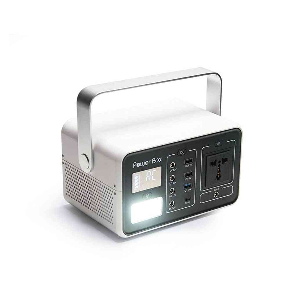 Gb-t200 Portable Solar Generatior Pure Sine Wave Power Station Energy Storage Battery