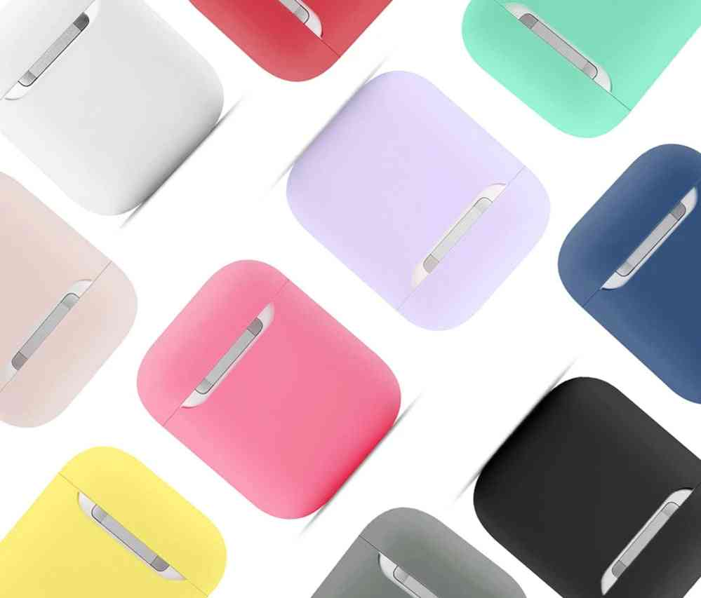 Soft Silicone Cases For Apple Airpods - Bluetooth Wireless Earphone Cover