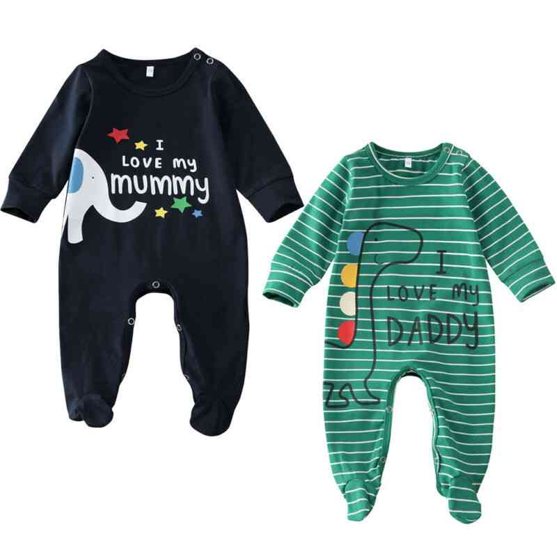 Baby Boy Sleepwear Striped Robes, Unisex - Romper Jumpsuit Clothes