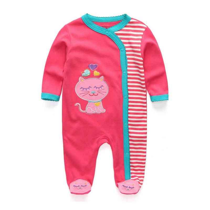 Newborn Baby & Clothing, Cotton Romper Pajamas, Cartoon Regular Clothes