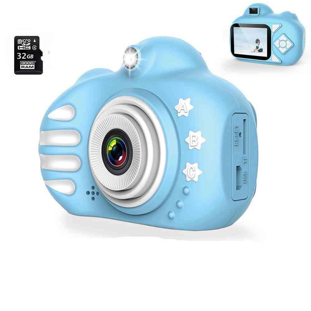 Dc C-5v/1a Kids Camera-16gb/32gb Sd Card ,2.4 Inch Ips