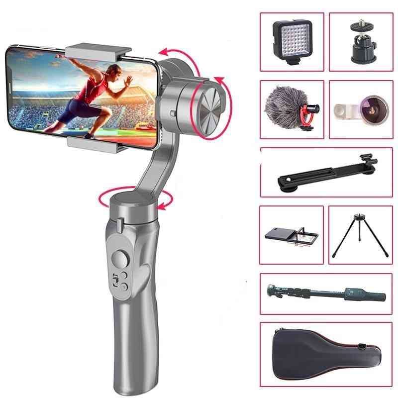 3-axis Handheld Gimbal Stabilizer For Smartphone ,iphone With Vertical And Lateral Angel Shooting