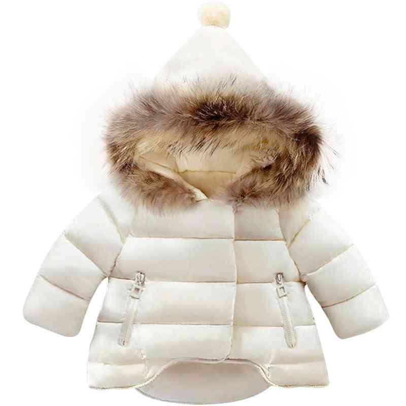 Winter Baby Girl / Jackets, Snowsuit Coat Warm Velvet Outerwear