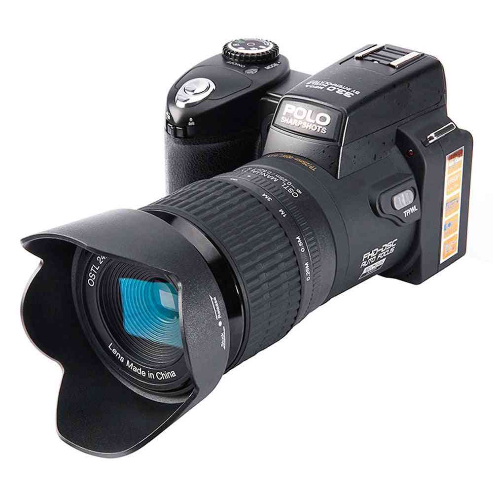 Professional Full Hd Dslr Hd 1920*1080 Digital Camera With 33mp And Auto Focus Wide Angel Lense
