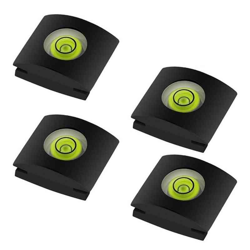 4pcs/set Bubble Spirit Level For Camera Shoe Protector