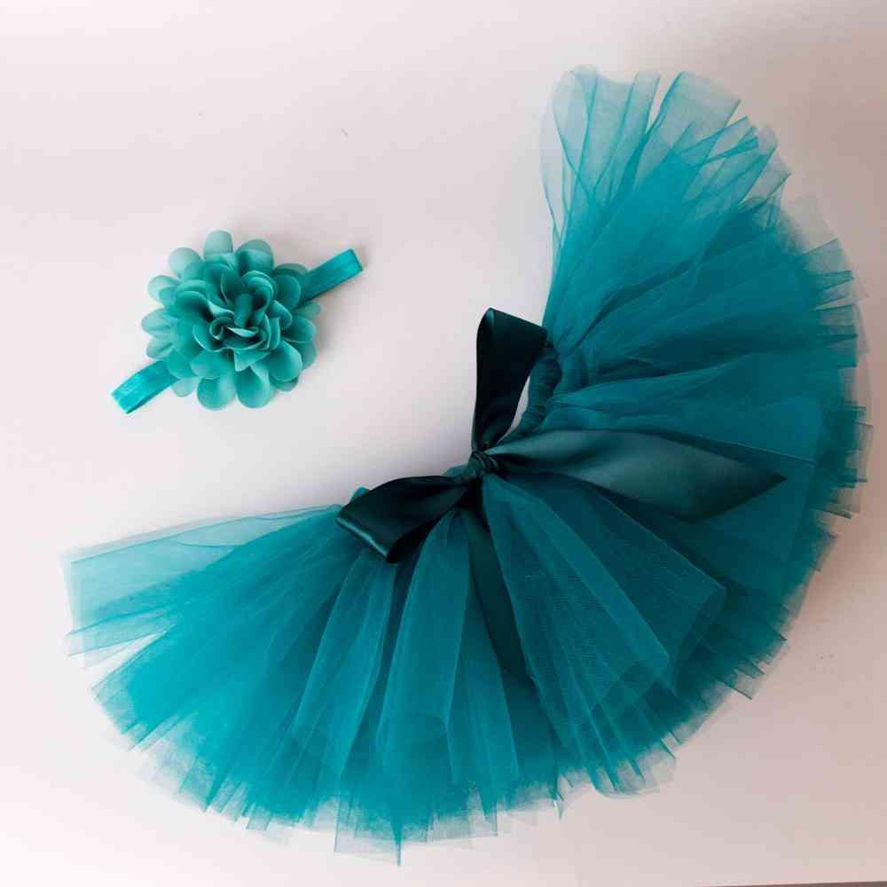 Baby Fluffy Tutu Skirt & Headband Set