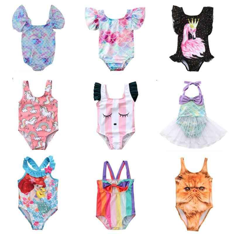Cartoon Swimsuit -swimming Bikini -bodysuit Beachwear