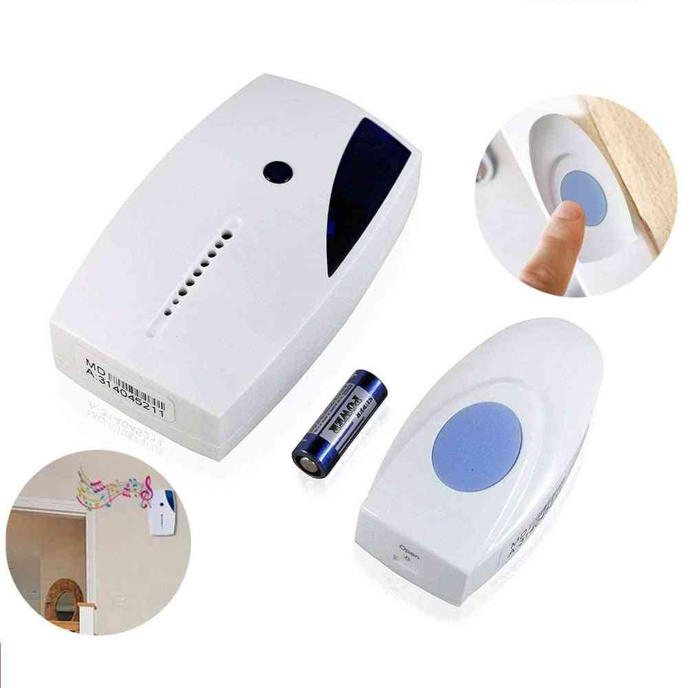 Long Range Wireless, Led Smart Door Bell With Remote Control