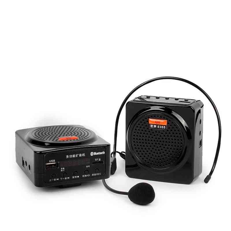 Voice Amplifier,  Bluetooth  Loudspeaker, Support Fm Radio Tf Usb
