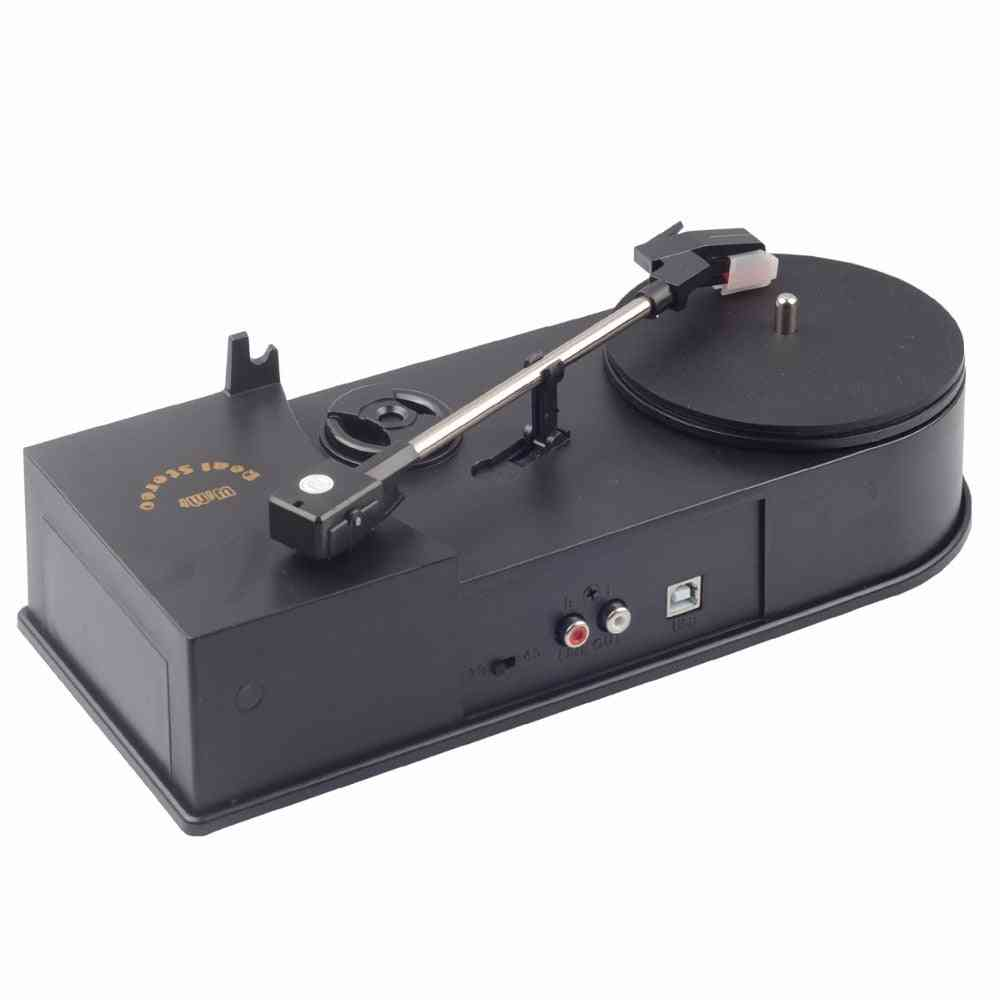 Portable Mini Vinyl Turntable Audio Player