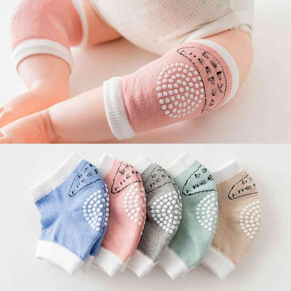 Baby Non-slip / Knee Pads Protector Crawling Elbow Terry Thick Mesh Breathable Warmers Cotton