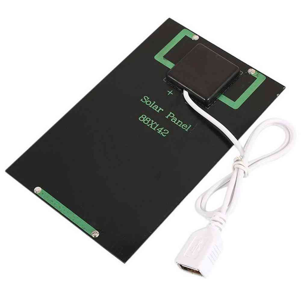 5w 5v Solar Panel Battery Charger With Usb Port For Mobile Phone